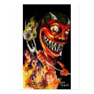 Teufel Postkarte