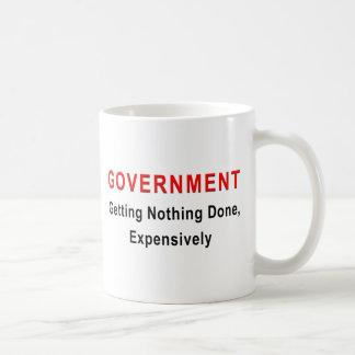 Teure Regierung Kaffeetasse