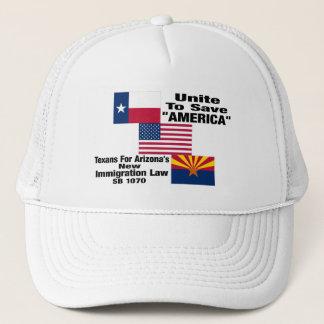 "Texans für ""offizielle"" Baseballmütze Arizonas Truckerkappe"