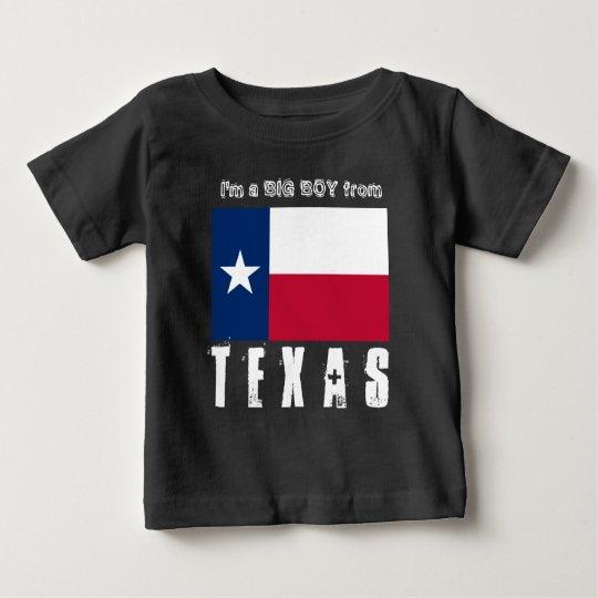 TEXAS bin ich ein großer Junge von Texas 2 Baby T-shirt