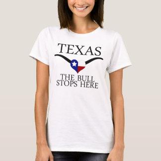 Texas - der Stier stoppt hier T-Shirt