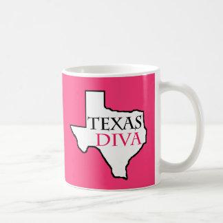 Texas-Diva - G.R.I.T. = Mädchen angehoben in Texas Kaffeetasse