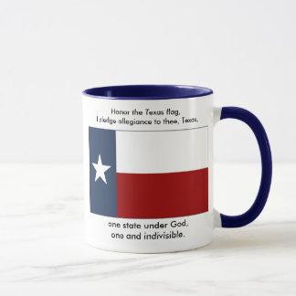 Texas-Flagge - Texas-Bürgschaft Tasse