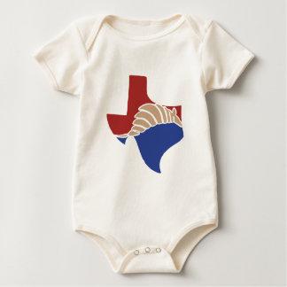 Texas-Gürteltier - TX Staats-Entwurf Baby Strampler