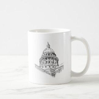 Texas-Hauptstadts-Gebäude Kaffeetasse