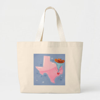 Texas-Hurrikan Jumbo Stoffbeutel