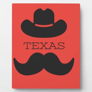 Texas im ROT Fotoplatte