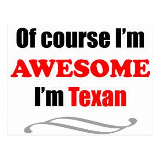 Texas ist fantastisch postkarte
