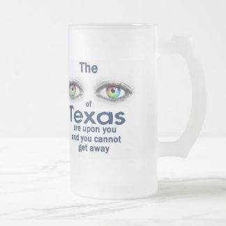 Texas Mattglas Bierglas