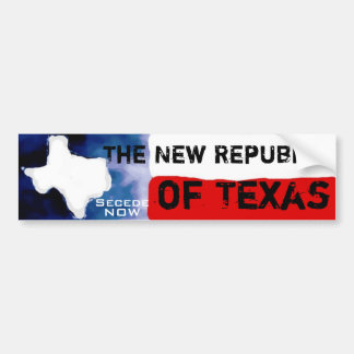 Texas-Mitteilung Autoaufkleber
