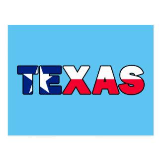 Texas Postkarte