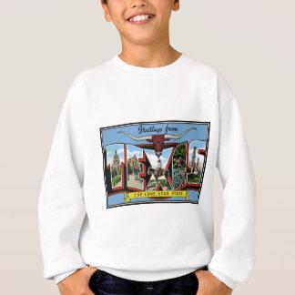 Texas. Produkt-Grüße von Texas Sweatshirt