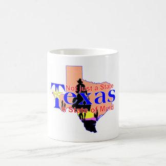 Texas-Staat der Sinneskaffeetasse Kaffeetasse