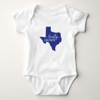 Texas-Staats-Bodysuit, am Ort gewachsen in Texas Baby Strampler