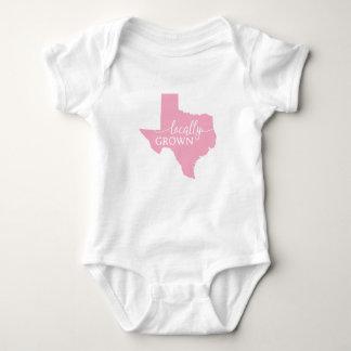 Texas-Staats-Bodysuit, am Ort gewachsen in Texas Babybody