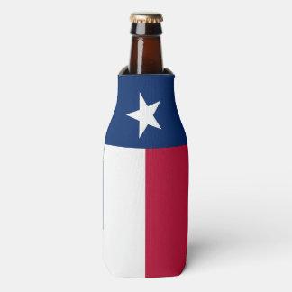 Texas-Staatsflagge - hochwertige authentische Flaschenkühler