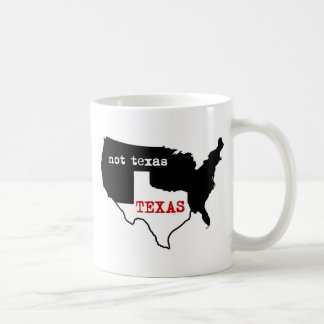 Texas-Stolz! Texas/nicht Texas Tasse