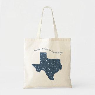 Texas-Tasche - Sterne nachts Tragetasche