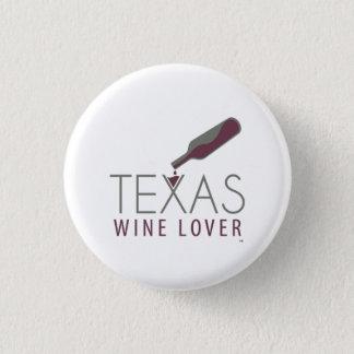 Texas-Wein-Liebhaber-runder Knopf Runder Button 2,5 Cm