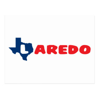 Texas zitiert Laredo Postkarte