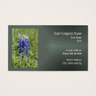 Texasbluebonnet-Wildblume-Geschäfts-Karte Visitenkarte