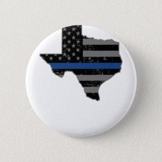 Texaspolizei u. -Gesetzesvollstreckung verdünnen Runder Button 5,1 Cm