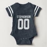 Texte personnalisé de coutume de bébé du Jersey du T Shirt
