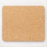 Texture de liège tapis de souris
