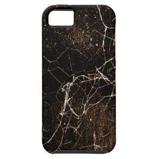 Texture foncée grunge d'impression de toile coque iPhone 5