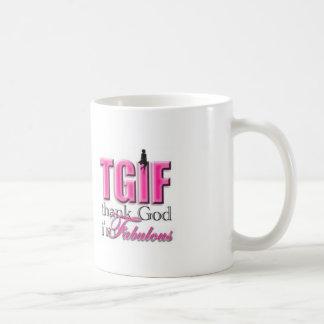 TGIF Im fabelhaft Kaffeetasse