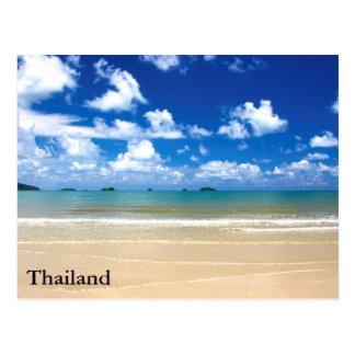 Thailand auf dem Strand Postkarte