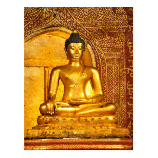 Thailand Buddha Postkarte