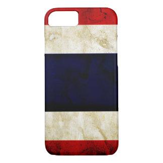 Thailand-Schmutz-Flagge iPhone 7 Fall iPhone 8/7 Hülle