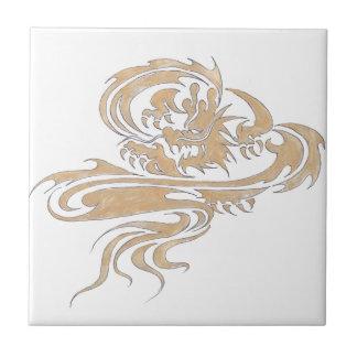 Thailändische Kunst, thailändischer Designer, thai Kleine Quadratische Fliese