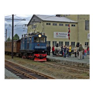 Thamshavnbanen Norwegen festliche Eröffnung 2006 Postkarten