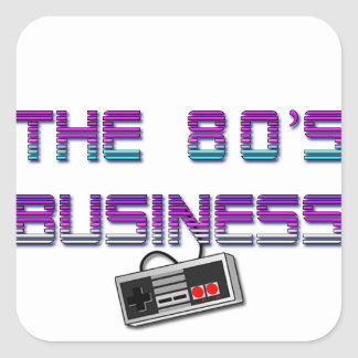 The80'sBusiness Aufkleber