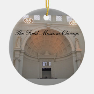 The Field-Museums-Chicago-Weihnachtsverzierung Keramik Ornament