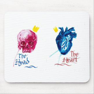 The Head and The Heart Mousepad
