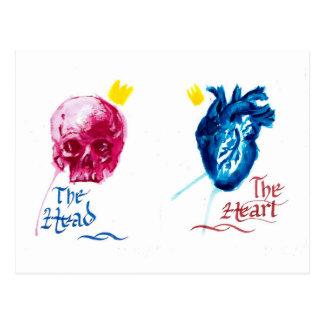 The Head and The Heart Postkarte