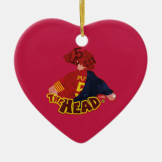 The Head Barcelona Football Reihen Keramik Ornament