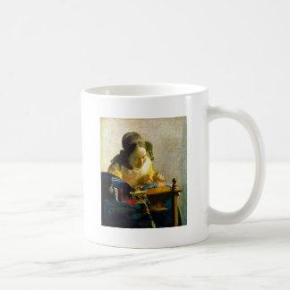 The Lacemaker, Jan Johannes Vermeer, Kaffeetasse