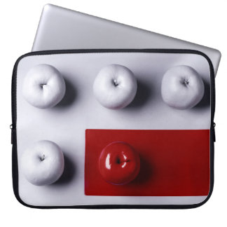 The red apple laptopschutzhülle
