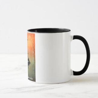 """""""THE SUN STEIGT"""" 11 Unze. WECKER-KAFFEE-TASSE Tasse"""