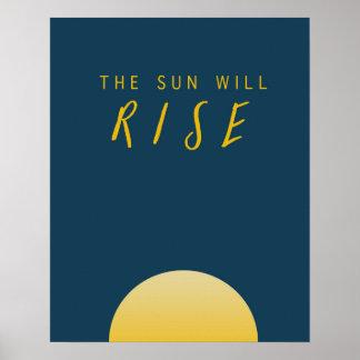 The Sun steigt Poster