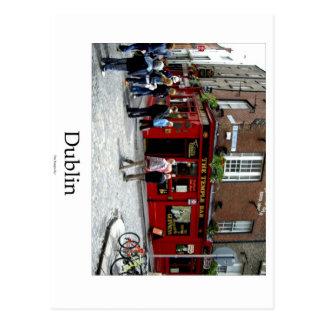 The Tempère Barre, Dublin, Ireland Carte Postale