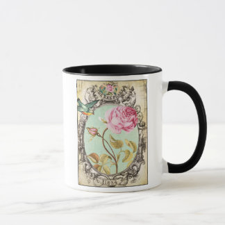 *tHe Vogel u. die Rose CuP* Tasse