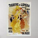 ~ Theatre de L'Opera de Jules Cheret Poster