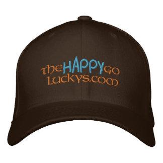 TheHappyGoLuckys URL-Hut Bestickte Kappe