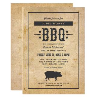 Thème de BBQ de jardin des invitations   de fête