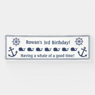 Themenorientierte Geburtstags-nautischfahne Banner